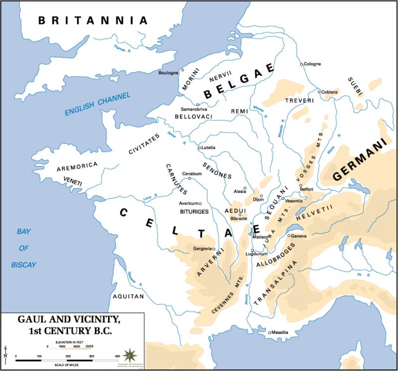 Celts - Gaul First Century BCE