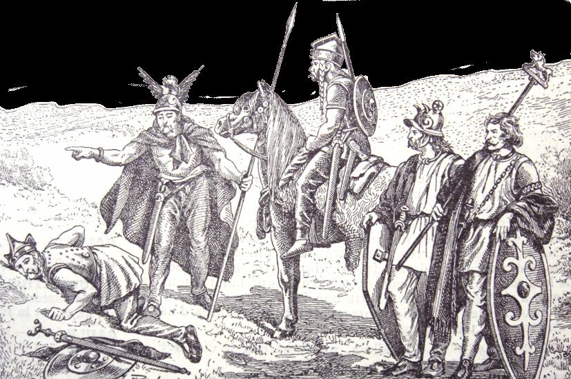 Celts - Gaul Soldiers (1898)
